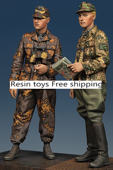 pre order-Resin toys 35165 Kurt Meyer & Officer Set (2 Figures) Free shipping толстовка wearcraft premium унисекс printio сделан в ссср 1985