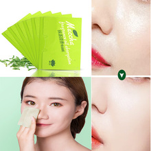 Blotting Tissue-Papers Face-Tool Oil-Absorbing Facial-Cleanser Green-Tea-Smell 100sheets/Pack