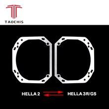 TAOCHIS автомобиль-декоративная рамка адаптер модуль DIY кронштейн переход рамки Hella 2 Hella 3 5 объектив проектора модернизации рамки