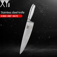 XYj Single Kitchen Knife Non-slip Handle Japanese 7Cr17Mov Stainless Steel Knife 3.5, 5, 7, 8, 8, 8 inch Handmade Kitchen Tools(China)