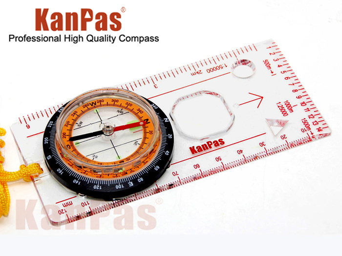 US $12.5 |KANPAS Outdoor camping map compass with luminous points,free  shipping,MA 45 5C-in Compass from Sports & Entertainment on AliExpress