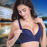 Mẹ thời trang Áo Ngực Thai Sản kích thước lớn gọng Dưỡng Áo Ngực cup lớn Feeding bra Đối Với Phụ Nữ Mang Thai Dưỡng Cho Con Bú Áo Ngực