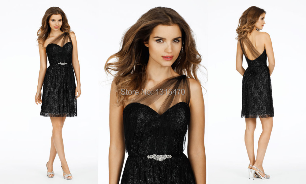Compare Prices on Bridesmaid Dresses Black Lace- Online Shopping ...