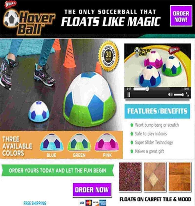 Verwonderend Magisch hover bal mini binnen en halve cirkel voetbal speelgoed ZD-04