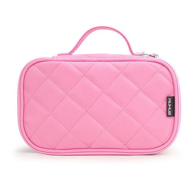 Brand organizer cosmetic bag double waterproof Makeup bag travel organizer cosmetologist case multi-function storage bag QE128 3