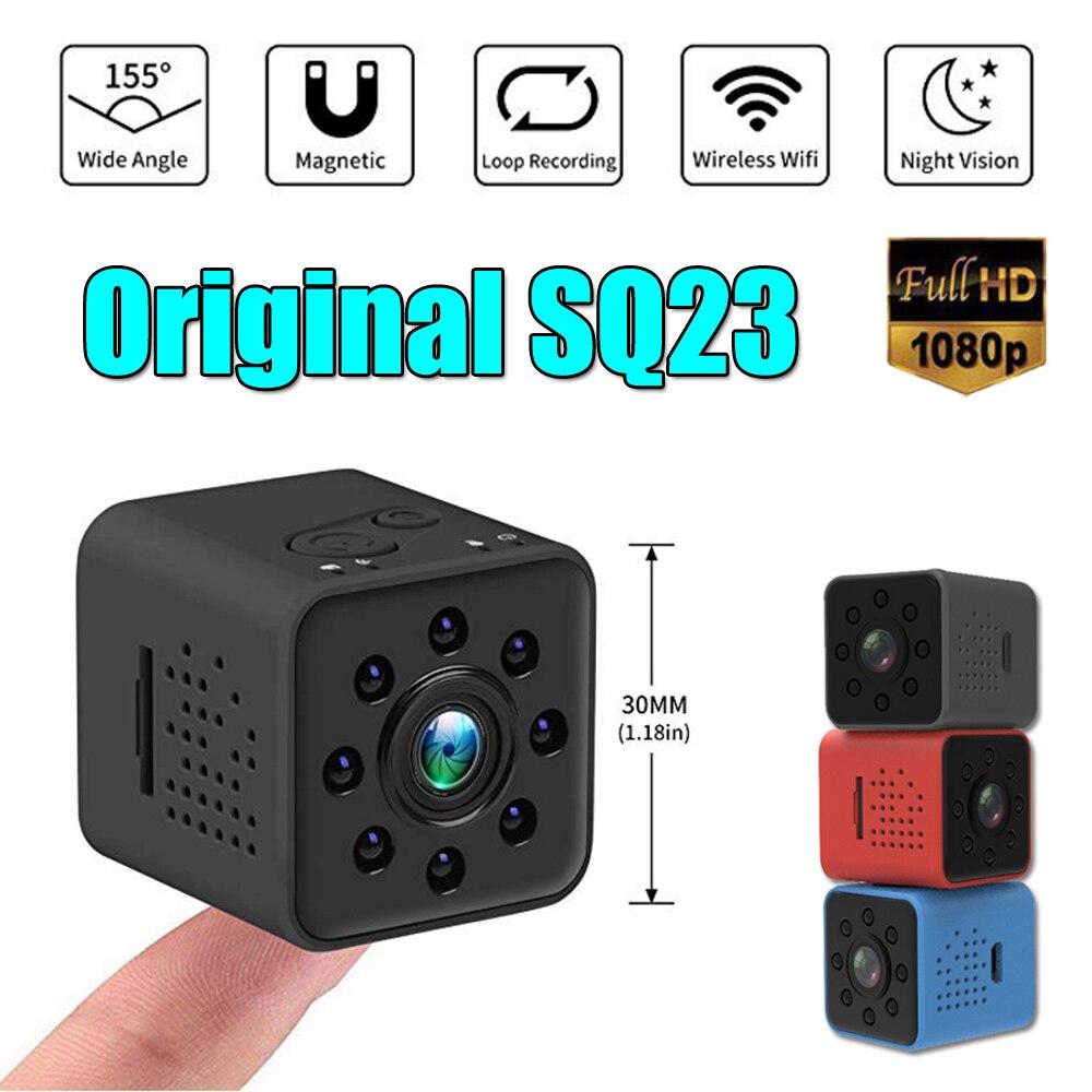 SQ23 SQ13 D'origine Mini Caméra WiFi Cam Full HD 1080 p Sport DV Enregistreur 155 Nuit Vision Petite Action Caméra caméscope DVR SQ 11