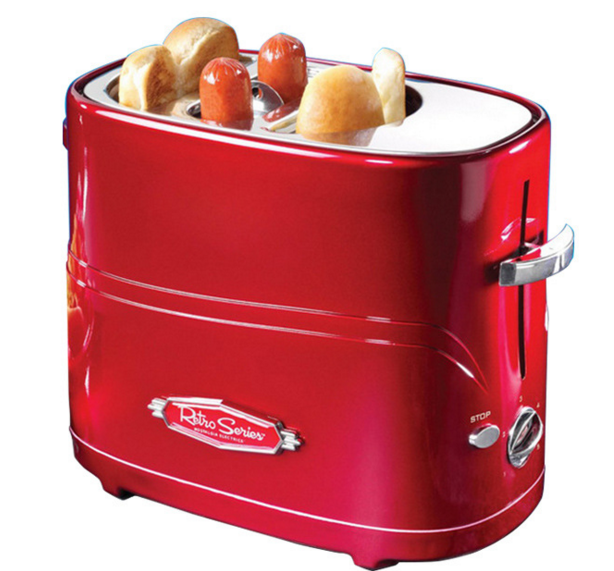 Household Hot Dog Toaster Automatic Breakfast Bread Making Machine American Mini Sausage Maker Toasting FurnaceHousehold Hot Dog Toaster Automatic Breakfast Bread Making Machine American Mini Sausage Maker Toasting Furnace