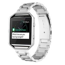 F itbit B Laze S Tailessเหล็กข้อมือสร้อยข้อมือวงเปลี่ยนสายสำหรับF Itbit B Lazeสมาร์ทฟิตเนสนาฬิกา