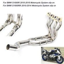 S1000r 2010 2016 s1000rr 2014 Полная труба для bmw s1000r выхлопная
