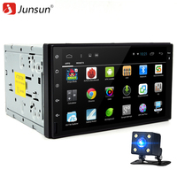 Junsun 7 2 Din Android 6 0 Car DVD Player Radio Stereo Video 1024 600 Autoradio