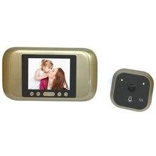 Смарт Глазок 3.2 «TFT Mute Главная Anti Мерцания Визуальный Дверной Звонок 720 P HD ПИР Авто Дверь Камеры Монитор фотография Video Recorder