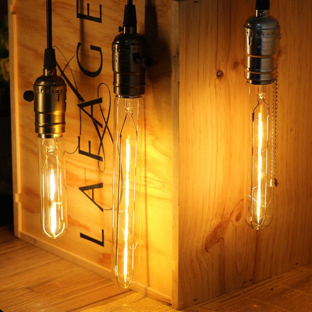 Retro Lamp ST64 G80 G95 G125 Vintage Edison Bulb e27 led Bulbs AC220v Holiday Lights e14 Filament Lamp Lampada For Home Decor