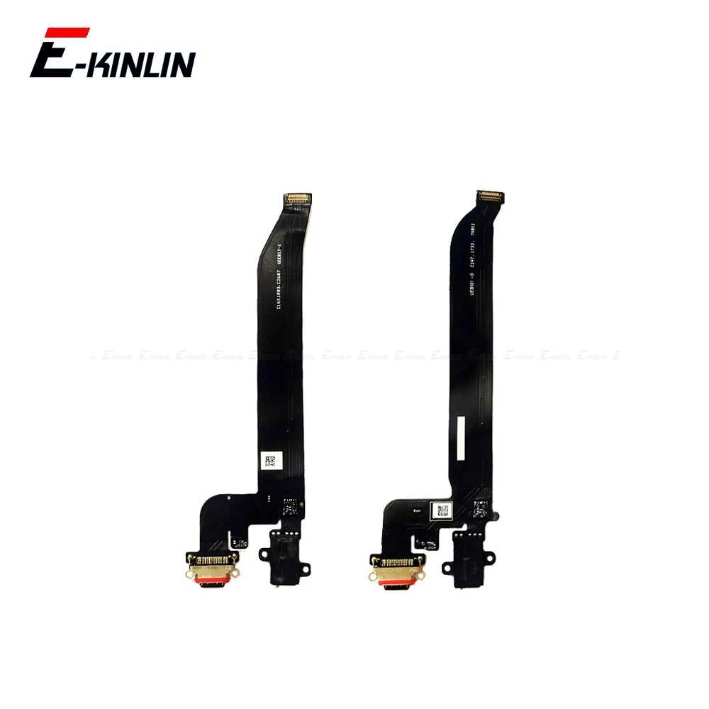 High Quality For OnePlus 5 5T 7 Pro Type C USB Charging Port Dock Connector Flex Cable Replacement Assembly Parts