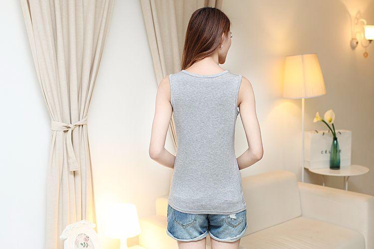 2016 Lato Bawełna Nursing Tank Karmienie Karmienie Piersią Bluzki Ubrania Macierzyństwa Kobiety W Ciąży Moda Matki T-shirt Plus Size 2