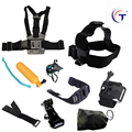 Go pro accessories set manager chest mount go per mount for SJ4000 gopro hero 4 3 2 1 Black Edition xiaoyi