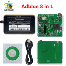 محاكي Adblue 8 في 1 ، جودة A ، دعم اليورو 6 ، AdBlue V3.0 ، مع مستشعر NOx ، شحن مجاني ، Adblue 9 في 1