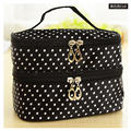 Double Layer Portable Mini Bags Case Women Beauty Makeup Handbag Case Bag Pouch