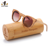 AP 2017 New Brand Designer Zebra Wood Sunglasses Gafas Shades UV400 Polarized Driving Sun Glasses