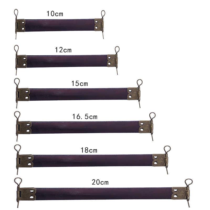 10 PCS Metal Interno Flex Quadros com Loops para Bolsas Bolsa Bolsa Da Moeda Bolsa Interna Clipe DIY Acessórios de Vestuário de Costura