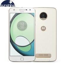 Original Motorola MOTO Z PLAY XT1635-03 LTE Mobile phone 5.5'' 16.0MP 3G RAM 64G ROM Octa core Dual SIM Fingerprint Smartphone