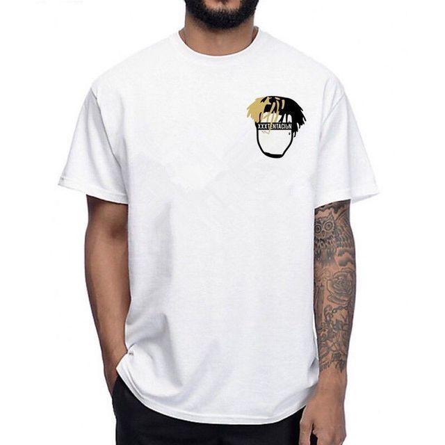 1e96f9332 2019 Hot Sale xxxtentacion T Shirt Sad Rip Streetwear Clout Rapper Xxx Lil  Peep Rap Tee shirt