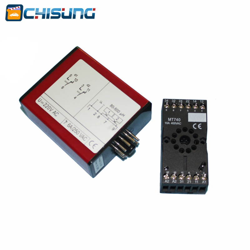 2018 Factory Price AC220V Single Channel Traffic Control Vehicle Safety Loop Detector For Barrier Gate