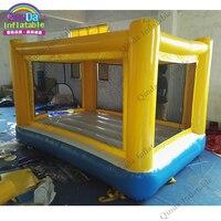Горячий воздух плотный прыжки надувной подпрыгивая замок на дворе партии, Батуты надувной батут детский Игрушечные лошадки, прыжки кровать