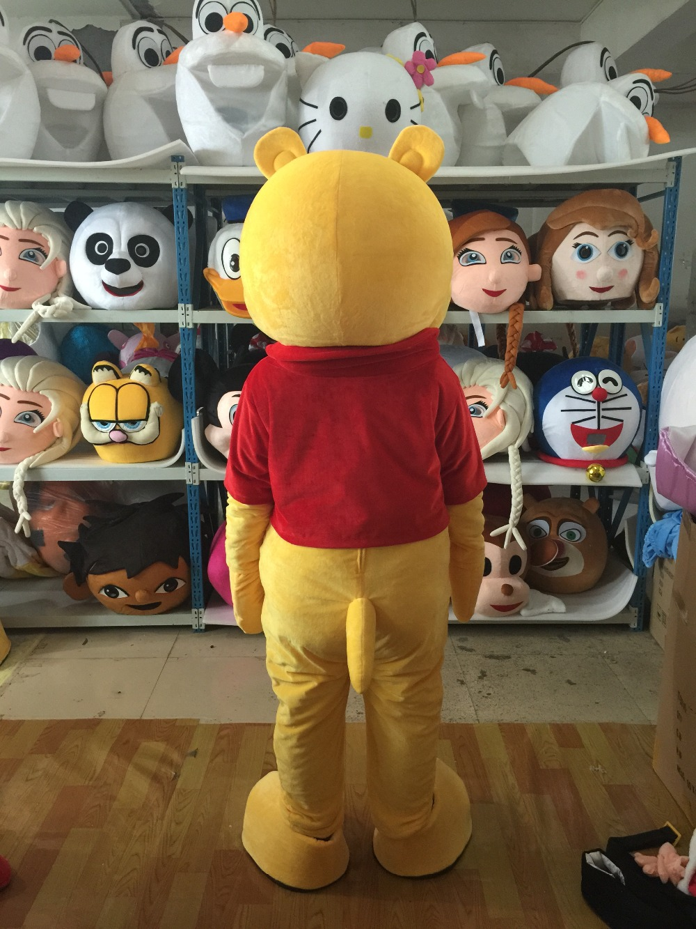 Bear Mascot Costume Animal Costume Halloween Party Fancy Dress in Mascot from Novelty Special Use