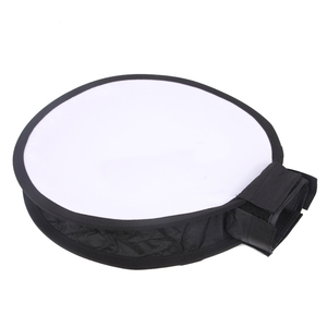 Image 2 - Foldable On top 40cm Round Soft Box Flash Diffuser Speedlight Softbox for for NikonCanonYongnuoSonys Photo Studio Accessories