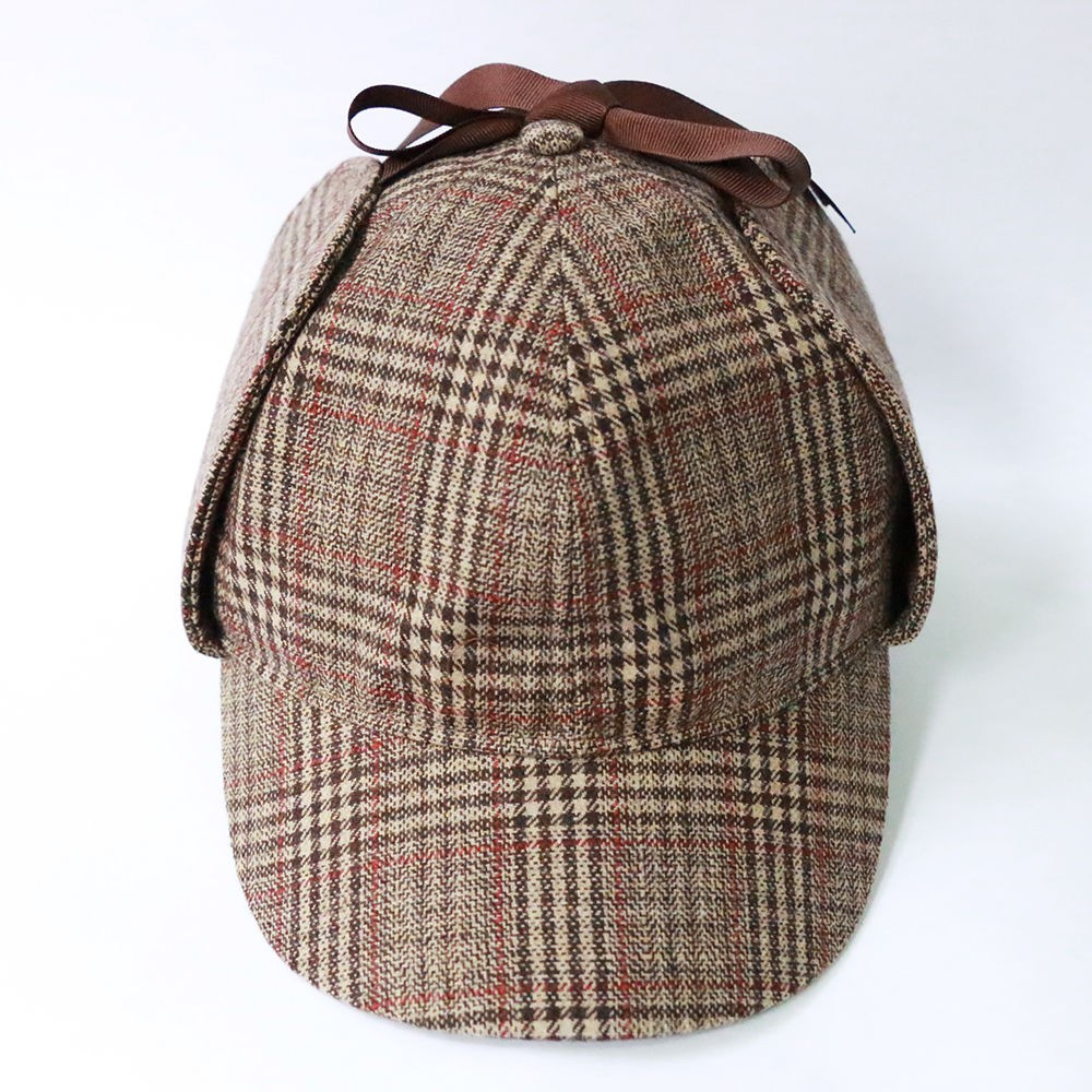 Sherlock Holmes Hat Novelty Gifts Deerstalker Cosplay Hat Detective Cap Unisex Movie Costumes Flat Caps Hip Hop Accessories3