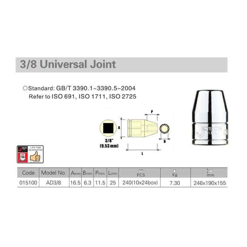Garantie à vie Jetech 3/8 pouces 3/8 pouces dr. douille - Outillage à main - Photo 3