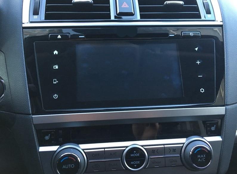 9inch Car Tempered Glass Screen Film DVD GPS Radio Multimedia Protective Film Guard Sticker For Subaru Outback Legacy 2016-2017 car tempered glass screen dvd gps lcd guard stereo multimedia protective film sticker for mitsubishi asx outlander lancer pajero