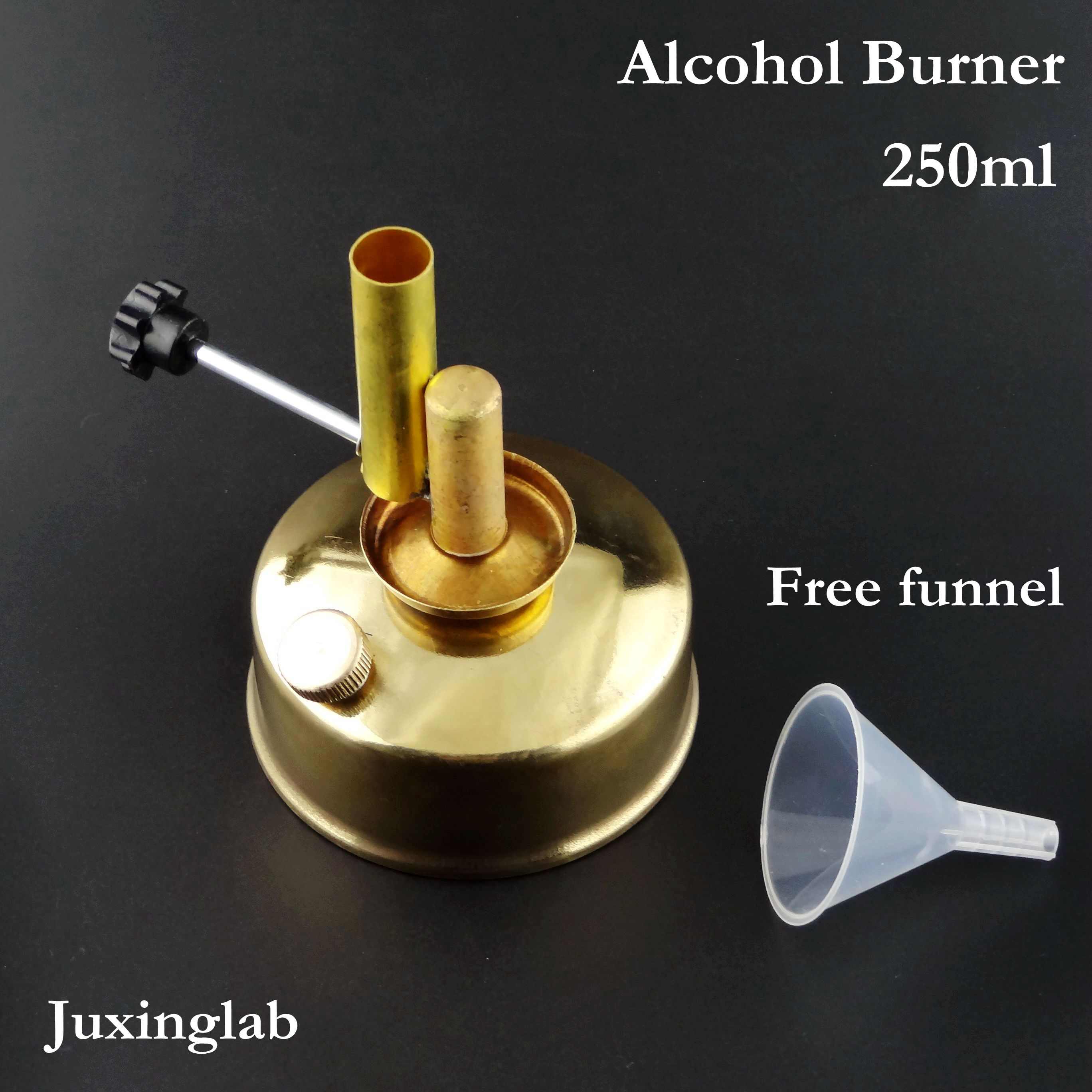 Alcohol Lamp Burner 250ml Made Of Brass ,copper Tirrill Burner Meker Burner Micro Brass Burner 250ml