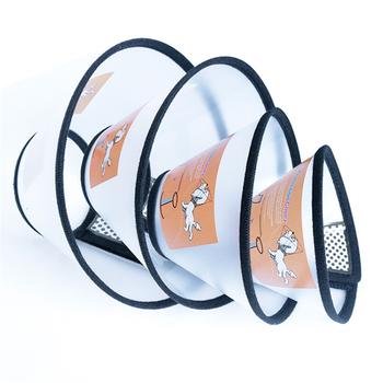 JCPAL przezroczyste Elizabeth koło przyjazne dla środowiska akcesoria dla psów dla urody chronić głowę psa Anti-bite obroża dla psa szkolenia tanie i dobre opinie Z tworzywa sztucznego Elizabeth Circle Dog Training Dog accessories for beauty Protect the dog s head Eco-friendly As Photo Shows