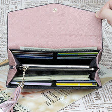 Carteira Feminina New Arrivals Long Tassel Women Wallets 2018 Brand Designer Fashion Envelope Cover Style Ladies Purse Hot Sale
