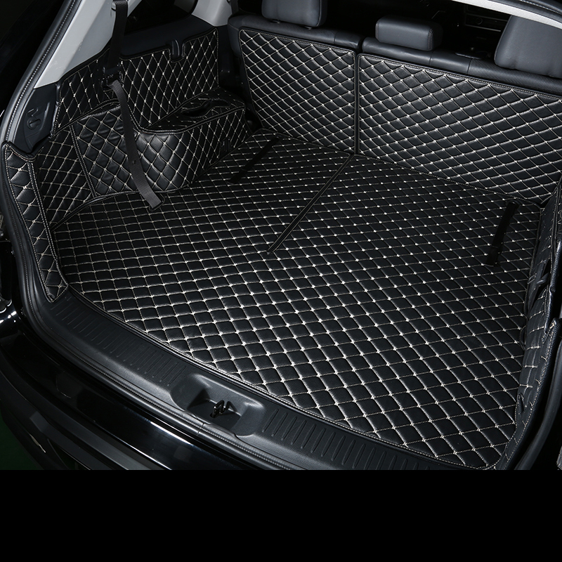 TPE+XPEmaterial All around special car luggage trunk mats for porschepanamera no odor waterproof non slip easy clean carpets