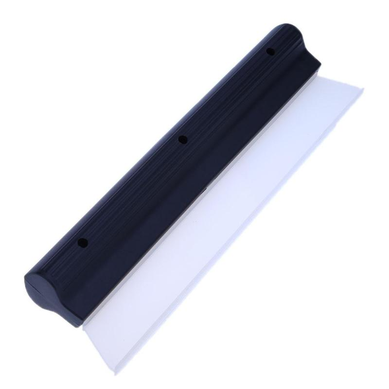 1Pcs Soft Silicone Automobiles Car Truck Windshield Window Glass Water Drying Blade Wiper Cleaning Scraper Car Washing Tools
