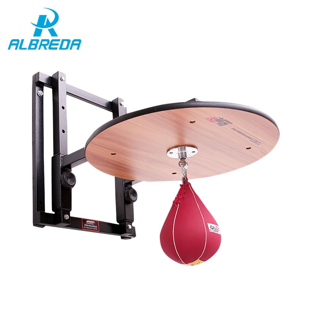 ALBREDA Регулируемая по высоте стойка для боксерского мяча, стойка для грушевого мяча, подвесная настенная боксерская рама, доски для взрослых,...