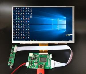 Pantalla LCD TFT de 9 pulgadas 1024*600, Monitor con Control remoto, tarjeta controladora HDMI para Lattepanda,Raspberry Pi Banana Pi