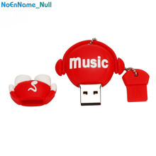 music style usb flash drive 32gb cartoon lovely USB 2.0 4GB 8GB pendrive 16GB pen 64GB stick 128gb gifts free shipping
