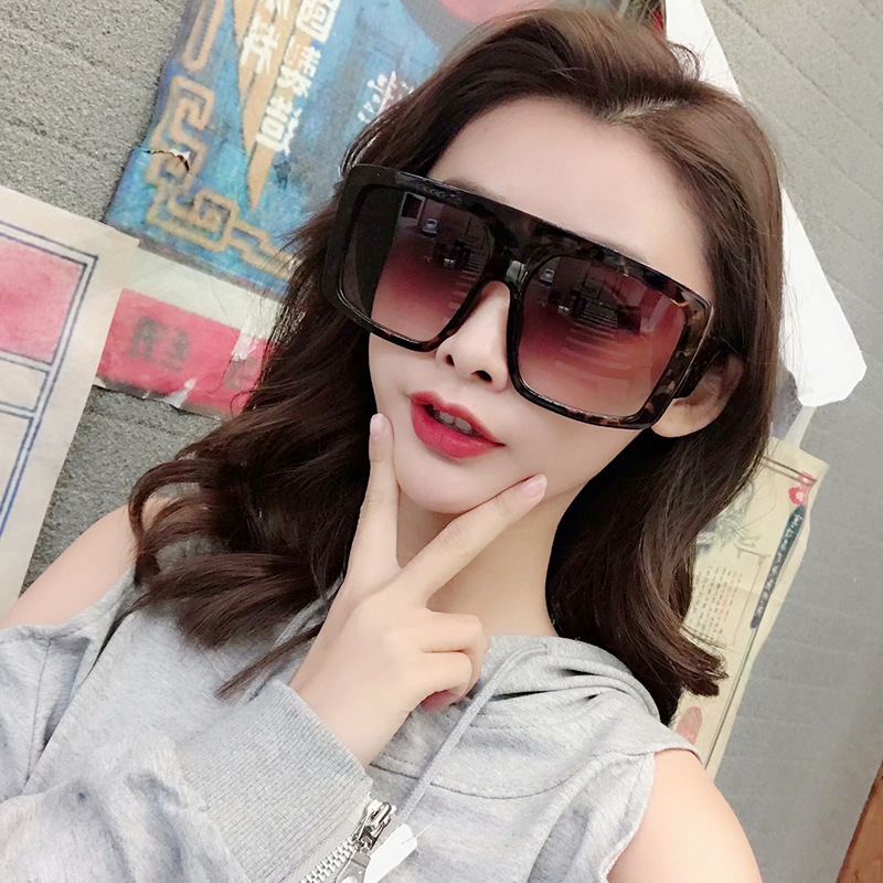 Oversize Square Sunglasses Women 2019 zonnebril dames Glasses Sexy Female Sun glasses lunette soleil femme Eyewear okulary UV400