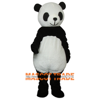 1pcs Giant Panda Adult Costume Panda Mascot Costume Plush Animal Costume
