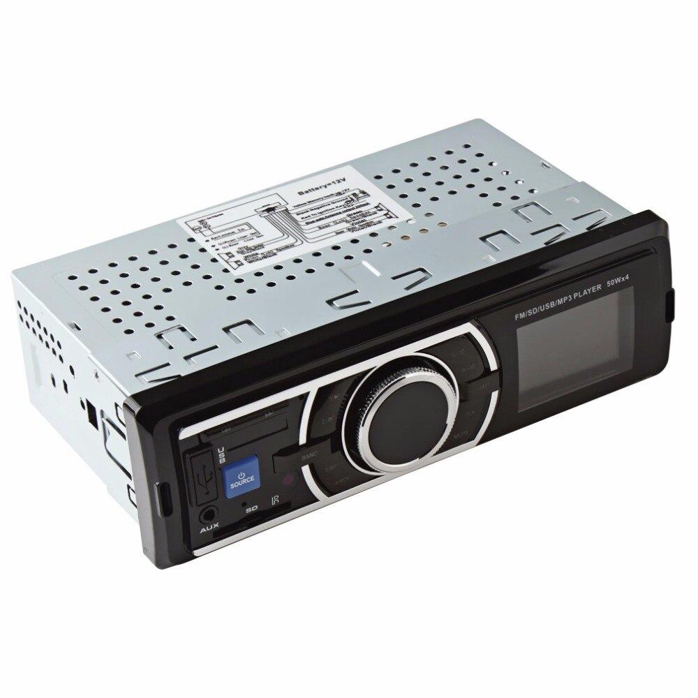 REAKOSOUND Car Audio Stereo In Dash Music MP3 Player font b Radio b font FM USB