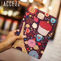 """case ipad !ACCEZZ Cartoon Flip Cover Tablet Sleeve For iPad Mini 1 2 3 4 7.9"""" inches Holder Stand Smart Sleep Wake Up Full Protective Case (1)"""