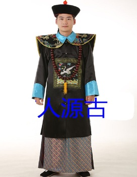 Qing-Dynasty-Minister-high-grade-costume