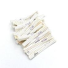 Condensateur 0603 SMD Kit assorti, 36 valeurs * 20 pièces = 720 pièces 1pF ~ 10uF 1608 échantillons Kit Kit de bricolage électronique nouveau