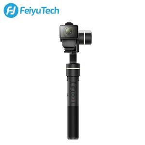 Image 4 - FeiyuTech G5GS odporny na zachlapanie kardana ręczna stabilizator dla Sony AS50 AS50R Sony X3000 X3000R kamera akcji rosyjski magazyn