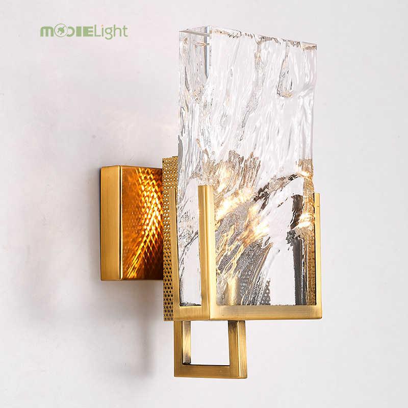 Mooielight Современные хрустальные настенные бра светодиодный настенный светильник для дома Освещение в помещении тщеславия настенный светильник luminaria