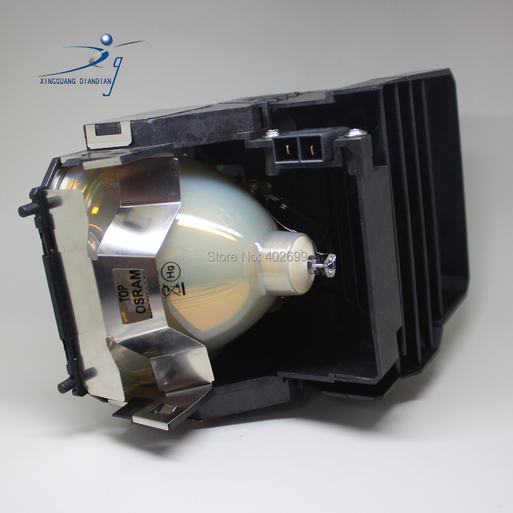 610-330-7329 / POA-LMP105 projectr lamp for EIKI LC-XG250 LC-XG250L LC-XG300 LC-XG300L Original with housing P-VIP 300/.3 P22.5 opening 20 mm tripod with lamp red circle ship type switch kcd1 105 3 feet 2 file with lamp