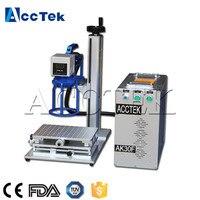 CNC Acctek 30w fiber laser marking machine AK30F